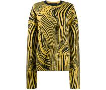 Psychedelischer Intarsien-Pullover