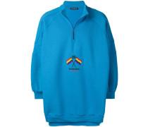'Hybrid' Oversized-Sweatshirt