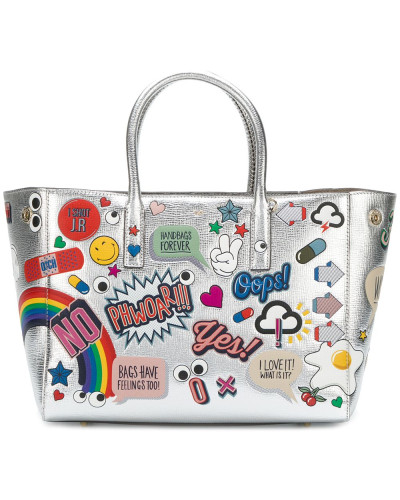 'All Over Stickers Ebury' Handtasche