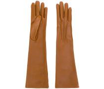 Handschuhe mit langem Schnitt