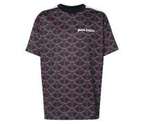 'Night' T-Shirt mit Monogramm-Print