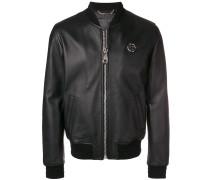 logo zip jacket
