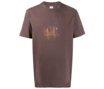 T-Shirt mit verschwommenem Logo