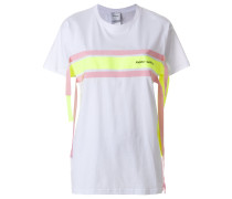contrast stripe T-shirt