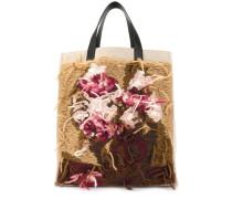 Shopper mit Blumen-Patch