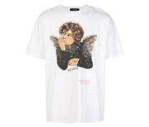 "T-Shirt mit ""Rebel Angel""-Print"