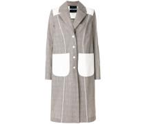 Oversized-Mantel aus Baumwolle