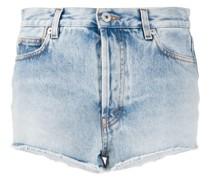 Hoch sitzende Jeans-Shorts