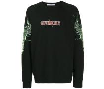 Sweatshirt mit Skorpion-Print