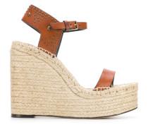 Sandalen im Espadrilles-Look