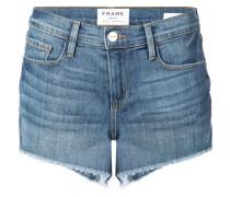 Jeansshorts aus Baumwollstretchgemisch