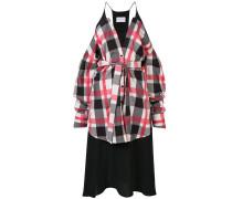 Jerseykleid mit Einsatz