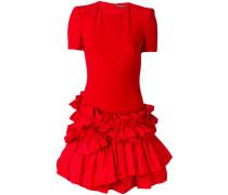 frill trimmed dress