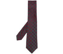 Krawatte mit Stickerei