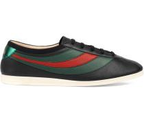 Sneakers mit Webstreifen