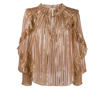 'Lucinda' Bluse aus Lurex