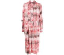 Hemdkleid mit Muster