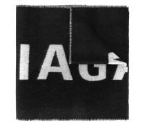 Schal mit Jacquard-Logo