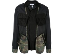 Cargojacke mit Patches