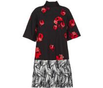 Poplin mini-dress