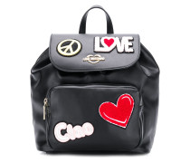 Rucksack mit 'Ciao'-Patch
