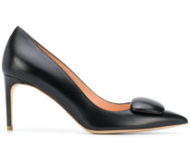 'Nada Pebble' Pumps, 80mm