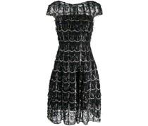 'Noix' Kleid im Metallic-Look