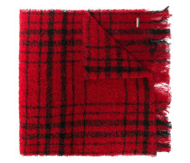 checked pattern scarf
