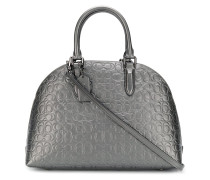 'Quinn' Handtasche mit Logo-Muster