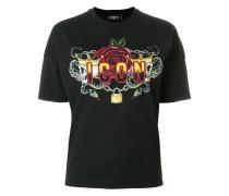 """T-Shirt mit """"Icon""""-Totenkopfmotiv"""