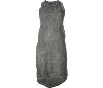 crease effect tank dress