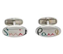 rainbow signature cufflinks