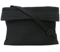 pleated shoulder bag