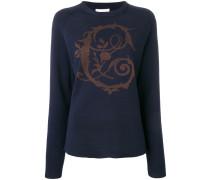 Pullover mit barockem Motiv