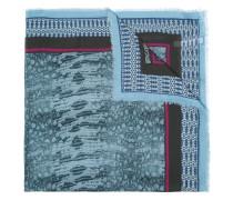 Schal mit Netz-Print