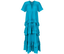 ruffled long dress