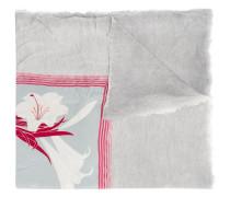 Schal mit Lilien-Print