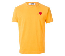 T-Shirt mit Logo-Applikation