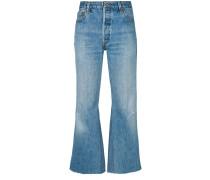 Lea crop flare jeans