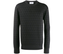 Pullover mit Gancini-Muster