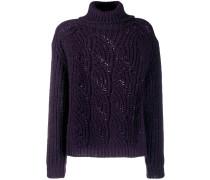 'Azure' Pullover mit Rollkragen