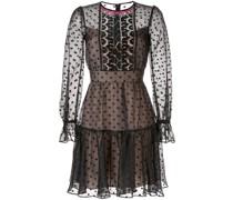 Kurzes Kleid mit Punkten