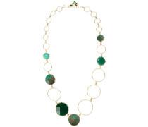 'Raggio' Halskette mit Anhängern