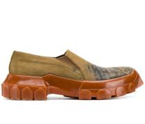 Strukturierte Slip-On-Sneakers