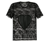 'Coração' Spitzenoberteil