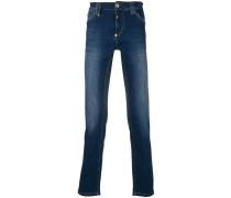 'Scream' Jeans mit geradem Bein