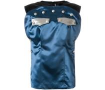 Bluse mit Knopfverzierung
