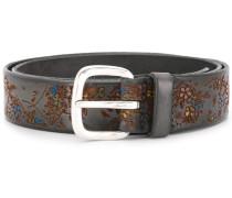 Floret hand-painted belt