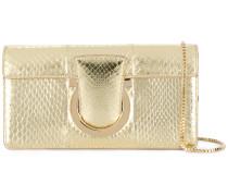 Thalia snakeskin-effect shoulder bag