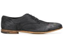 'Grazian' Oxford-Schuhe im Distressed-Look